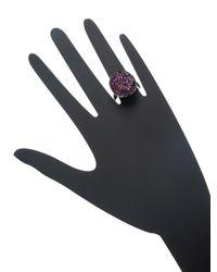 Effy - Multicolor Amethyst, Ruby & Sapphire Ring - Lyst