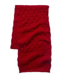 Portolano Cherry Red Wool Headwear