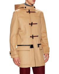 Dior Homme - Natural Wool & Cashmere Duffle Coat for Men - Lyst