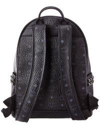 MCM Brown Stark Basic Small Backpack - For Men
