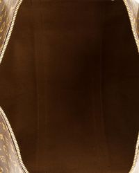 Louis Vuitton Brown Monogram Canvas Keepall 50 Bandouliere