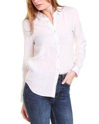 Raffi White Linen Shirt
