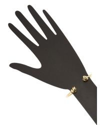 Kate Spade - Metallic Knot Cuff Bracelet - Lyst