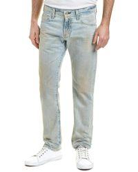 AG Jeans Blue The Matchbox 22 Years Sun Stroke Slim Straight Leg for men
