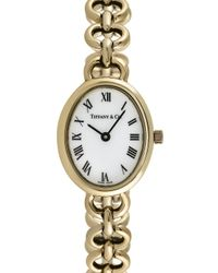 Tiffany & Co Metallic Vintage Tiffany & Co. 14k Yellow Gold Watch, 24mm