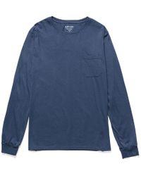 Richer Poorer Blue Pocket T-shirt for men
