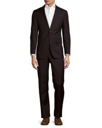 Todd Snyder Blue Mayfair Modern Fit Checked Wool Suit for men