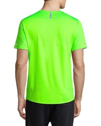 New Balance - Green New York City Marathon T-shirt for Men - Lyst