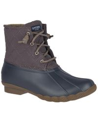 Sperry Top-Sider Blue Saltwater Boot