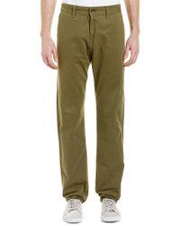 Rag & Bone Green Standard Issue Army Straight Leg for men