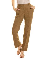 Off-White c/o Virgil Abloh Brown Off-white? Plaid Wool-blend Trouser