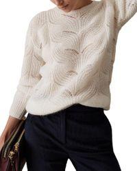 Reiss Multicolor Dinah Mohair & Wool-blend Sweater