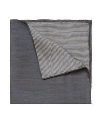 John Varvatos - Blue Denim Pocket Square for Men - Lyst