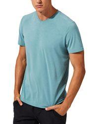 Mpg Blue Tower T-shirt for men