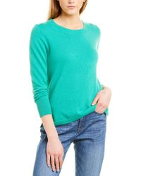 J.Crew Blue Cashmere Sweater