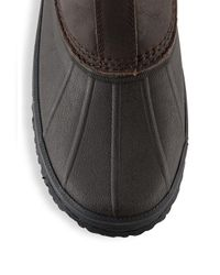 Ugg Brown Romosa Waterproof High-top Leather Boots for men