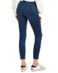 Rag & Bone Blue Cate Mid-rise Ankle Skinny Leg Jean