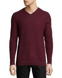 Vince Camuto | Purple Raglan Sleeves Sweater for Men | Lyst