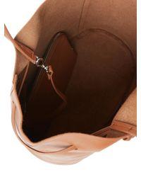 Steven Alan Brown Dylan Drawstring Tote Bag