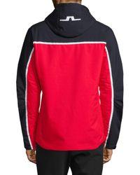 J.Lindeberg Red M Sitkin Jacket for men