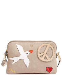 Tory Burch Multicolor Marion Leather Shoulder Bag