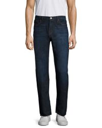 J Brand Blue Kane Straight Fit Pant for men