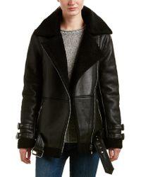 Walter Baker Black Bria Leather Jacket