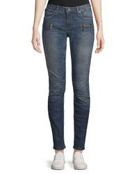 Robin's Jean Blue New Motard Skinny Jeans