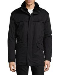 Tumi - Black High Neck Jacket for Men - Lyst