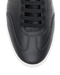 Fred Perry - Black Umpire Leather Low Top Sneakers for Men - Lyst