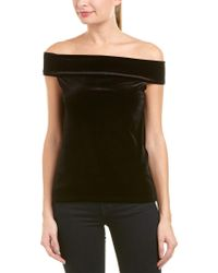 French Connection Black Off-the-shoulder Top