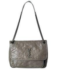 Saint Laurent Multicolor Medium Niki Leather Shoulder Bag