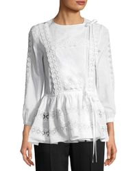 Givenchy - White Shirt - Lyst