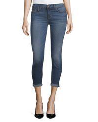 Hudson Blue Skinny Crop Jeans