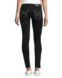 Miss Me Black Beaded Skinny Jeans
