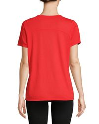 Tommy Hilfiger - Black Logo Short-sleeve Tee - Lyst