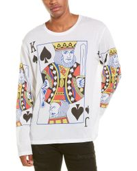 Stella McCartney White King Jack T-shirt for men