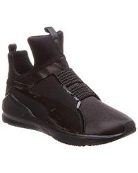 PUMA Black Fierce Satin En Pointe Wn Sneaker