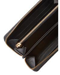 Louis Vuitton - Vintage Black Python Zippy - Lyst