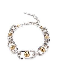Marc By Marc Jacobs - Metallic Jewelry Icon Statement Link Bracelet - Lyst