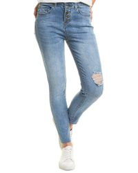 William Rast Blue Sweet Mama Riviera High-rise Skinny Jean