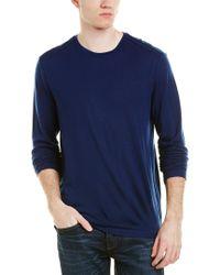 J Brand - Blue Wool-blend Sweater for Men - Lyst