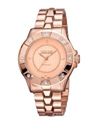 Roberto Cavalli Multicolor Stainless Steel Diamond Watch