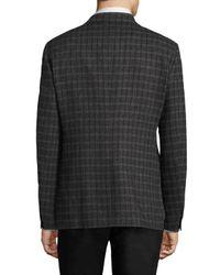 Thomas Pink Gray Bolan Cotton Jacket for men