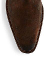 Mezlan Brown Berne Ankle Boots