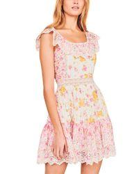 LoveShackFancy Multicolor Denver Dress