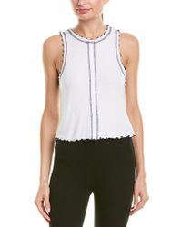 Vimmia White Serenity Muscle Tank
