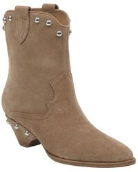 Marc Fisher Brown Ryan Suede Boot