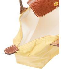 Longchamp Multicolor Le Pliage Long Handle Small Nylon Tote