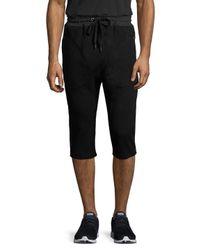2xist - Black Cotton Slim Sweatshorts for Men - Lyst